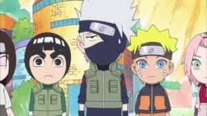 Naruto SD 12: Život bez nindža technik / Chci se dělit se Sakurou o deštník