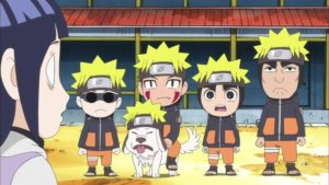 Naruto SD 09: Hinata je Nejiho sestřenka / Hinatinou slabinou je Naruto