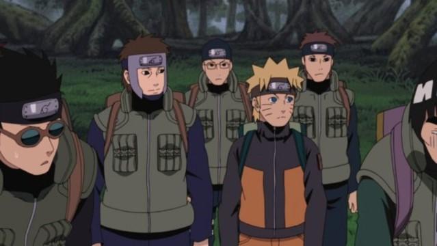 Naruto Shippuuden 243: Vylodění! Rajský ostrov?
