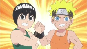 Naruto SD 11: Exkurze do bývalého hlavního města / Dívčí pokoje a krabice sladkostí