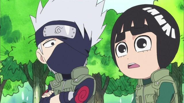 Naruto SD 13: Žák vs. mistr! Rock Lee vs. Maito Gai! / Překonám mistra Gaie!
