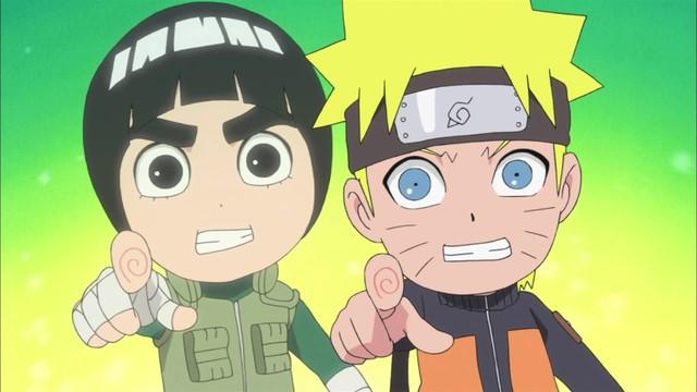 Naruto SD 23: Naruto je Lee a Lee je Naruto / Sním o procházce s Kyuubim