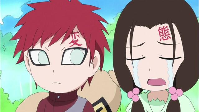Naruto SD 25: Gaarova první láska! / Dárek od Orochimara!