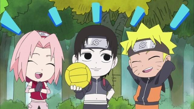 Naruto SD 26: Zelený plamen, uhýbající Lee! / Přitakávač říka ne!