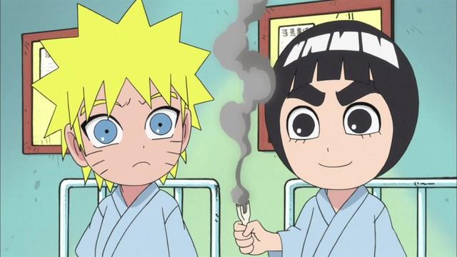 Naruto SD 32: Sakura je má sestřička! / Jeden hlas pro Rock Leeho!