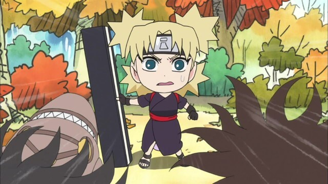 Naruto SD 36: Tenten vs Temari! / Orochimaru hledá lásku!