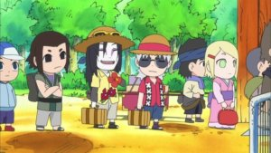Naruto SD 07: Orochimaru je štír skupiny B / Milostné dopisy jsou naprostá past